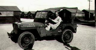 dad in jeep